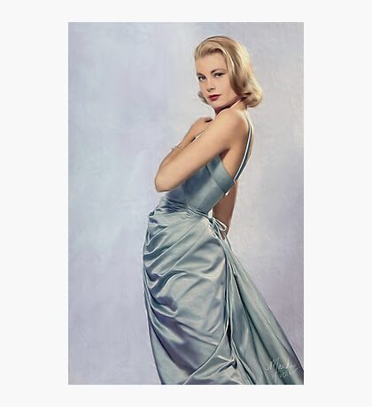 Grace Kelly- Queen of Grace Photographic Print