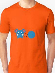 Azurill - blue background T-Shirt