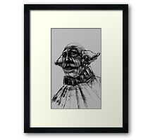 Sad Clown Framed Print