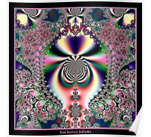 Psychedelic Dreams Fractal Poster
