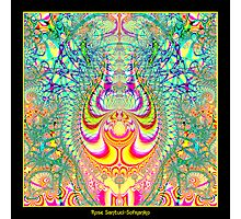 Psychedelic Topsy-Turvy Thoughts Fractal Photographic Print