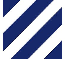 Logo of the 3rd Infantry Division, U. S. Army Photographic Print