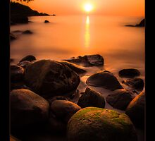 Sunset in Goa by Nishant Kuchekar