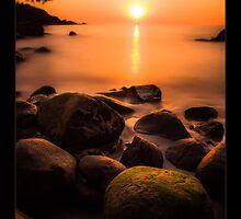 Sunset in Goa by Nishant Kuchekar
