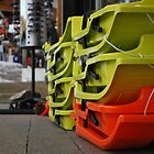 Colourful Sledge stack by feef