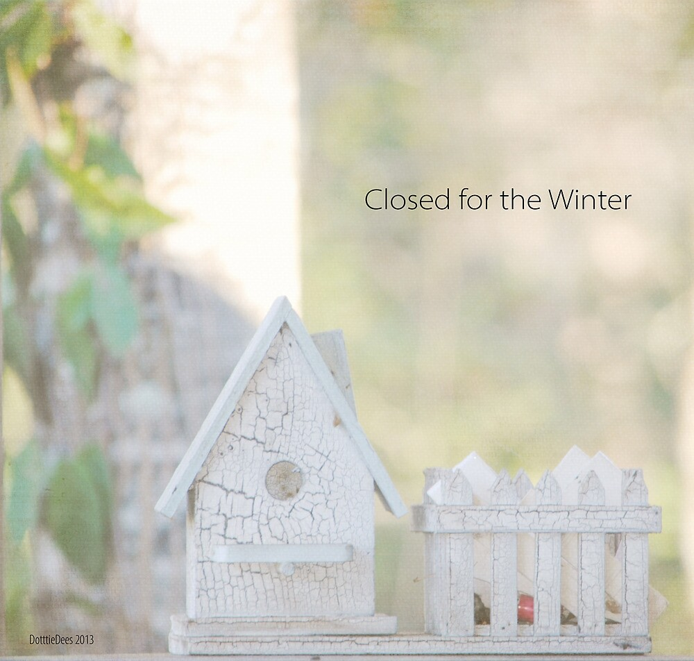 Closed for the Winter by DottieDees