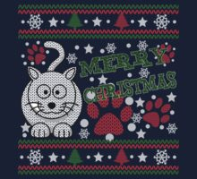 Merry Christmas - Meowy Catmas Kids Clothes