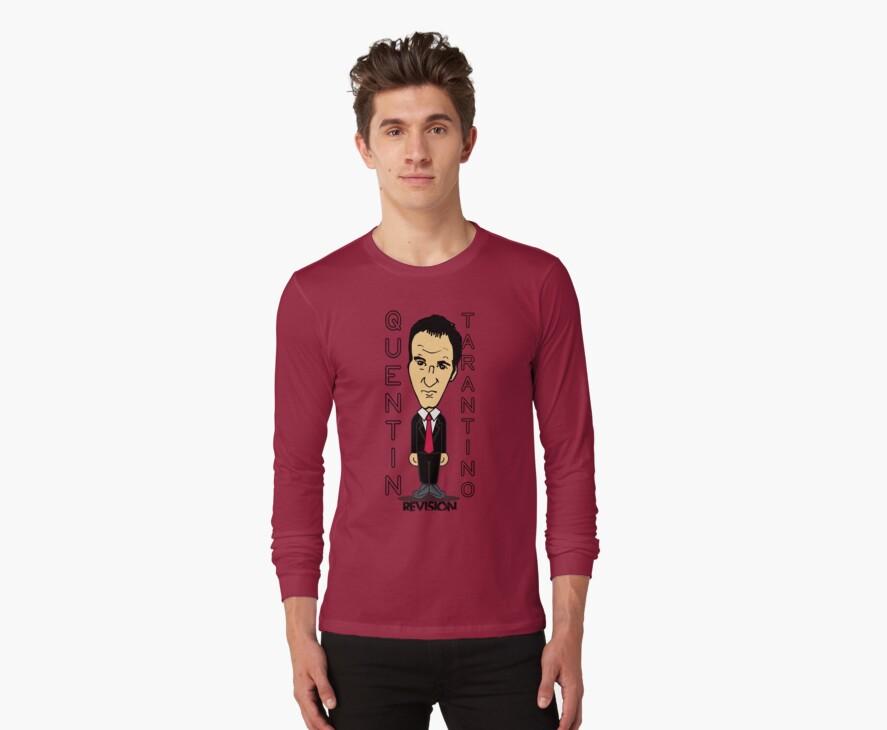 Tarantino Cartoon Inspired T-shirt :D by Melanie Andujar