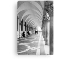 Underneath the archway Metal Print