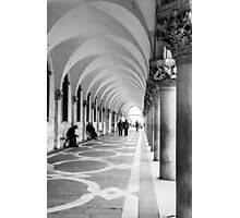 Underneath the archway Photographic Print