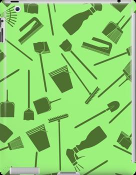 cleaning seamless pattern by Marishkayu