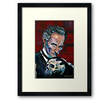 Peter Cushing - Baron Frankenstein Framed Print