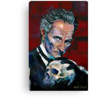 Peter Cushing - Baron Frankenstein Canvas Print