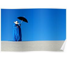 Mystic Blue 5 Poster