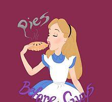 Pies Before Guys by sketchboardjoy