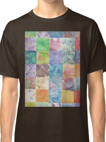 Watercolor Background Classic T-Shirt