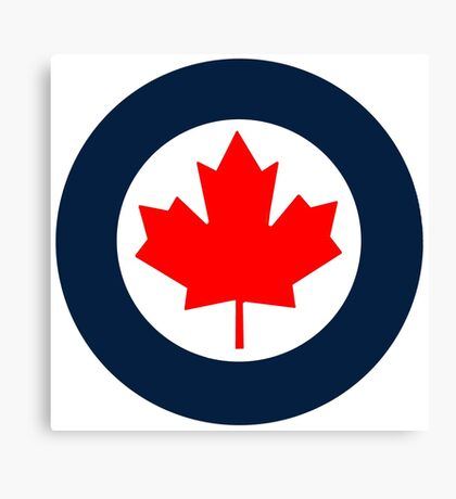 Royal Canadian Air Force Roundel Canvas Print