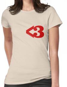 Metamodern Love Womens Fitted T-Shirt