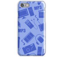 media seamless pattern iPhone Case/Skin