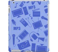 media seamless pattern iPad Case/Skin