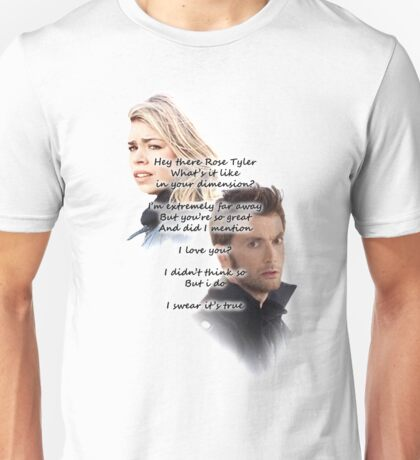 Hey There Rose Tyler (not Delilah) Unisex T-Shirt