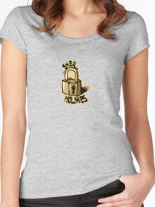 sher-LOCK Women's Fitted Scoop T-Shirt