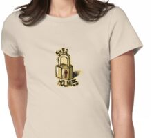 sher-LOCK Womens Fitted T-Shirt
