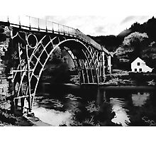 Ironbridge- the white house Photographic Print