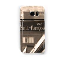 Montreal - Rue Saint Francois Xavier Samsung Galaxy Case/Skin