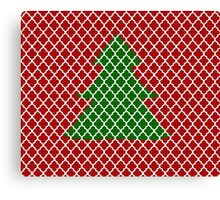 Christmas Trellis Canvas Print