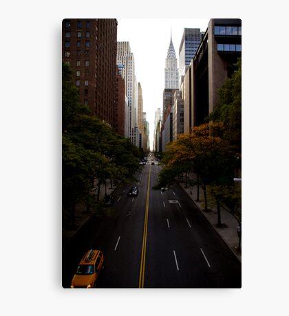 Chrysler Causeway  Canvas Print