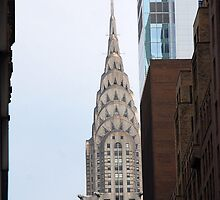 Chrysler Building - NYC by John Schneider