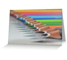 Colouring Pencils :) Greeting Card