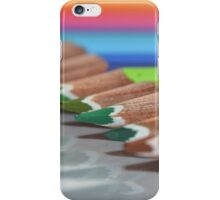 Colouring Pencils :) iPhone Case/Skin