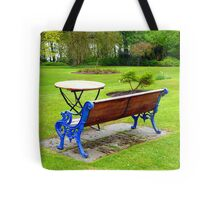 An Irish Country House Garden Tote Bag
