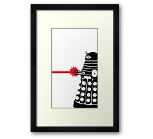 Dalek Illo Framed Print