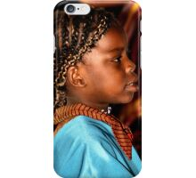 Young Somalian Girl iPhone Case/Skin