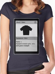 Magic Card Funny T Shirt Women's Fitted Scoop T-Shirt