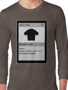 Magic Card Funny T Shirt Long Sleeve T-Shirt