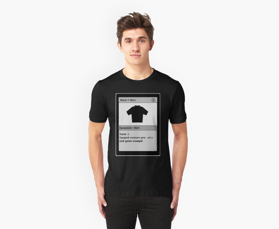 Magic Card Funny T Shirt by humanwurm