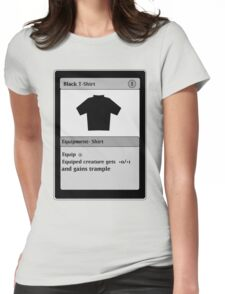 Magic Card Funny T Shirt Womens Fitted T-Shirt