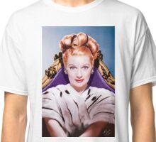 Lucille Ball- Queen of Comedy Classic T-Shirt