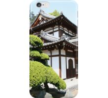 Japanese temple iPhone Case/Skin