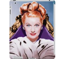 Lucille Ball- Queen of Comedy iPad Case/Skin