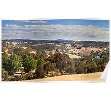 Adelaide Hills - Summer in Australia Poster