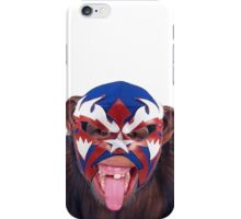 lucha monkey 2 iPhone Case/Skin