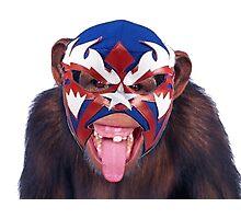 lucha monkey 2 Photographic Print