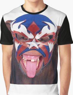 lucha monkey 2 Graphic T-Shirt