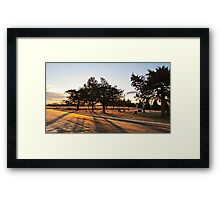 Sunrise at Springdale Framed Print