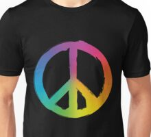 Peace and Pece Sign Unisex T-Shirt